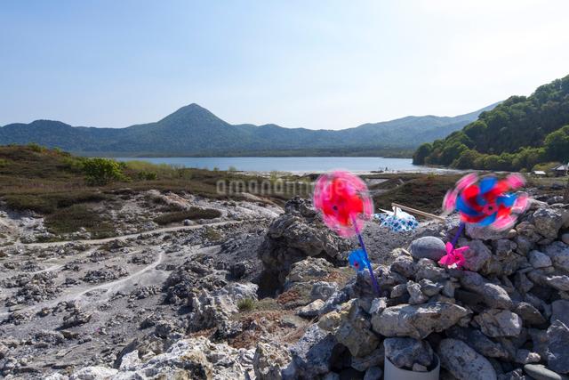 日本三大霊場 恐山の写真素材 [FYI01453113]