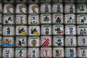 日本酒菰樽の写真素材 [FYI01453145]