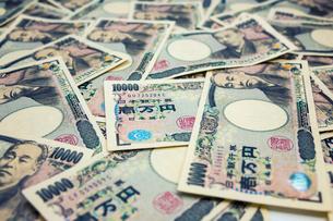 一面の一万円札の写真素材 [FYI01453183]