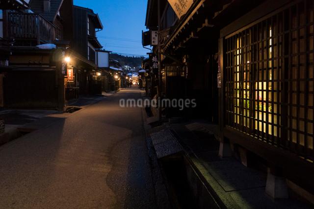 飛騨高山の街並みの写真素材 [FYI01453320]