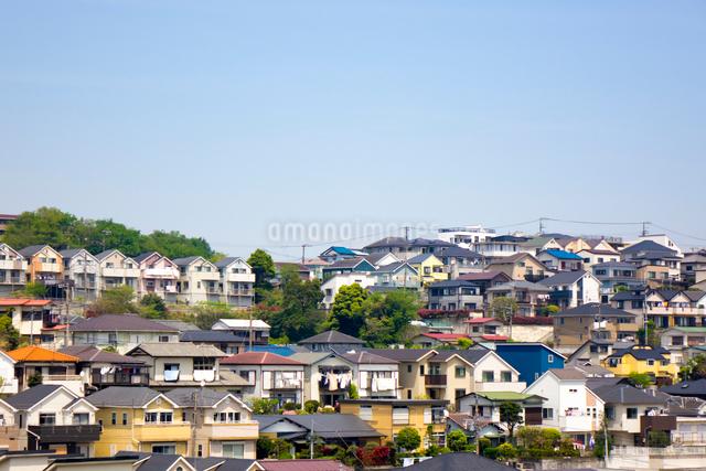 住宅街の写真素材 [FYI01453417]