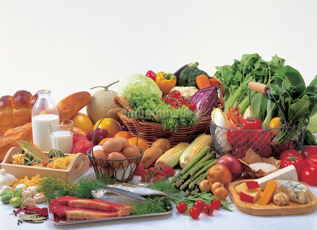 いろいろな食材の写真素材 [FYI01453642]