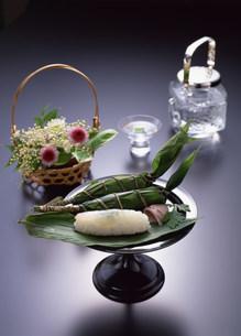 こどもの日食べ物 ちまきの写真素材 [FYI01453777]