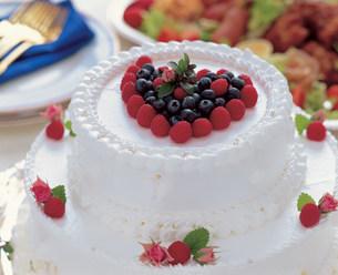 ウエディングケーキの写真素材 [FYI01455213]