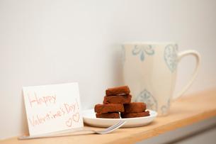 バレンタインの生チョコの写真素材 [FYI01456050]