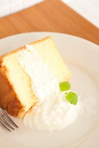 シフォンケーキの写真素材 [FYI01456207]