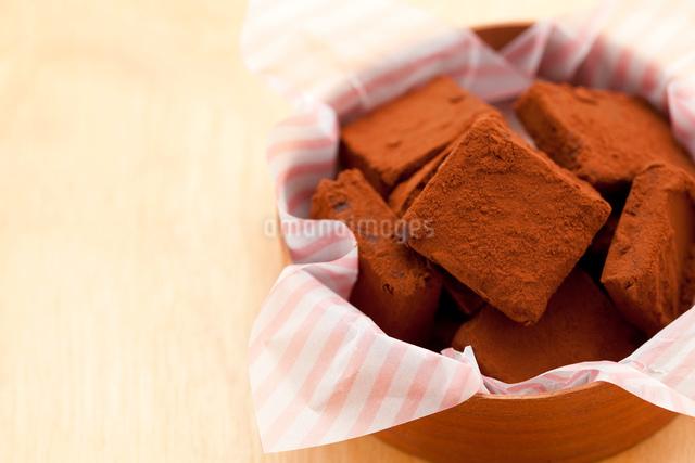 手作り生チョコプレゼントの写真素材 [FYI01456277]