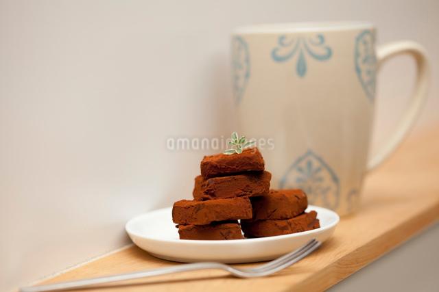 バレンタインの生チョコの写真素材 [FYI01456288]