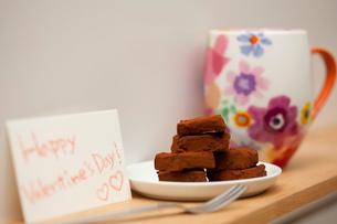 バレンタインの生チョコの写真素材 [FYI01456534]