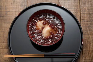 鳥取の小豆のお雑煮の写真素材 [FYI01456975]