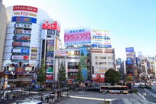 八王子駅北口ロータリーの写真素材 [FYI01457584]