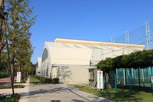 昭和の森テニスセンターの写真素材 [FYI01457776]