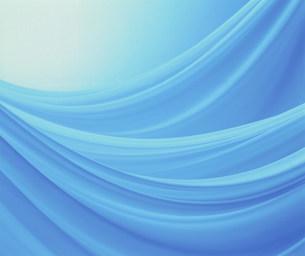 青い布の写真素材 [FYI01458221]
