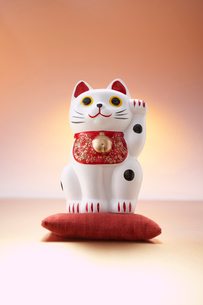 招き猫の写真素材 [FYI01458423]