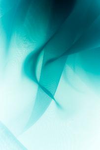 青い布のドレープの写真素材 [FYI01458677]