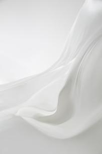 風になびく白い大きな布の写真素材 [FYI01458820]
