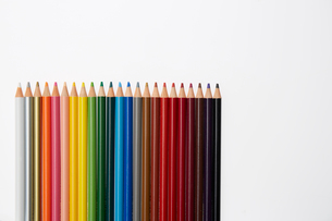 カラフルなイロ鉛筆の写真素材 [FYI01458846]