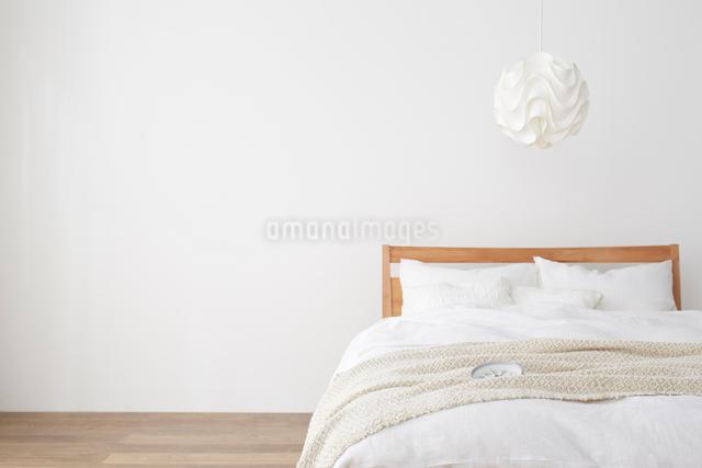 シンプルなベッドルームの写真素材 [FYI01459927]