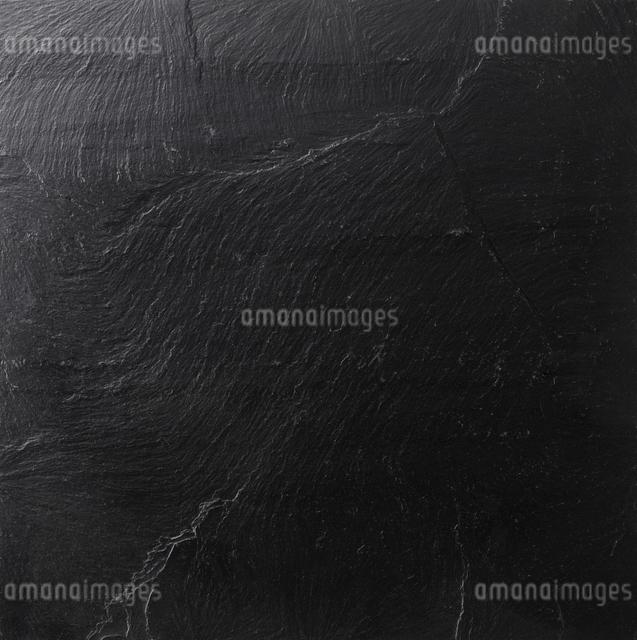 黒い玄昌石の素材の写真素材 [FYI01460614]