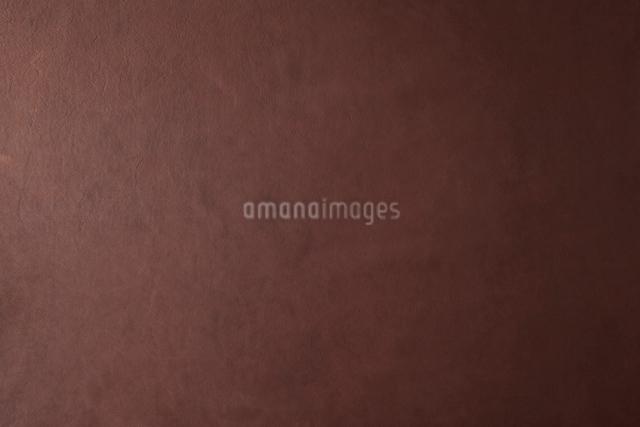 赤茶色の革素材の写真素材 [FYI01460674]