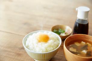 卵かけご飯の写真素材 [FYI01461316]