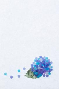 金平糖からなるあじさいの写真素材 [FYI01461377]