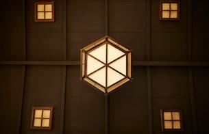 和室の天井の写真素材 [FYI01461635]