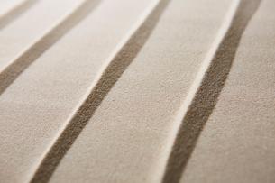 砂で描いた模様の写真素材 [FYI01461744]