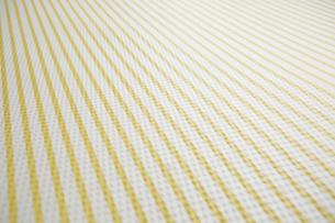 黄色と白のストライプの布の写真素材 [FYI01461749]