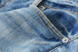 ジーンズの腰ポケットの写真素材 [FYI01461768]
