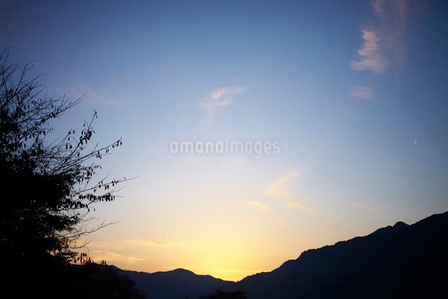 色が変わっていく空の写真素材 [FYI01461831]
