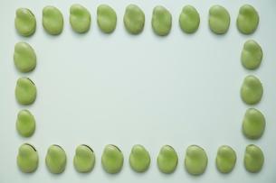 そら豆のフレームの写真素材 [FYI01462239]