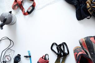登山に必要な道具の写真素材 [FYI01462365]