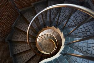 螺旋階段の写真素材 [FYI01463027]