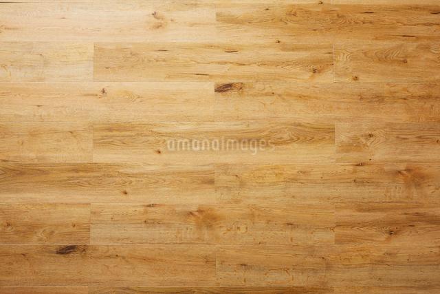 ナチュラルの節のある木目の床の写真素材 [FYI01463782]