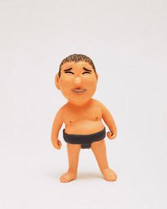 クラフト 相撲をする人の写真素材 [FYI01464060]