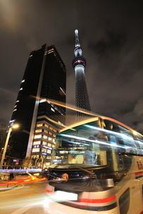 東京スカイツリーライトアップ(防災の日)の写真素材 [FYI01464128]