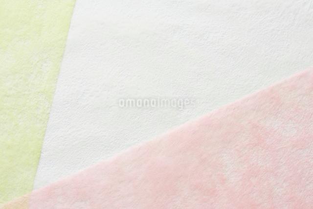 3色の和紙の写真素材 [FYI01464201]