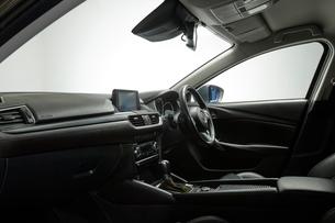 車のフロント座席の写真素材 [FYI01464419]