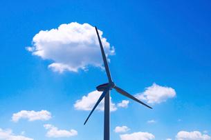風力発電機の写真素材 [FYI01464480]