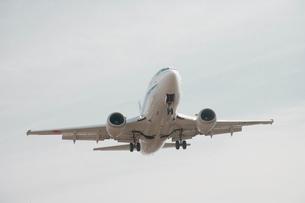旅客機の写真素材 [FYI01464879]