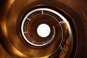 螺旋階段の写真素材 [FYI01465378]