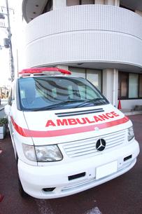 救急車イメージの写真素材 [FYI01465645]