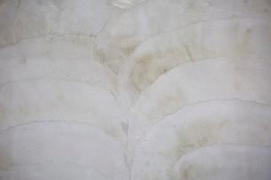 荒く塗られたコンクリートの壁の写真素材 [FYI01466440]