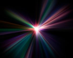 光の放射のイラスト素材 [FYI01467514]