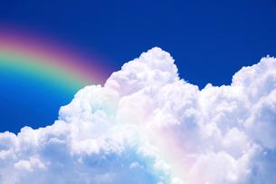 青空と入道雲の写真素材 [FYI01468730]