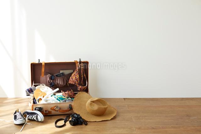 旅行の荷造りの写真素材 [FYI01469554]