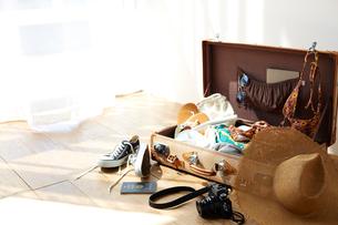 旅行の荷造りの写真素材 [FYI01469556]