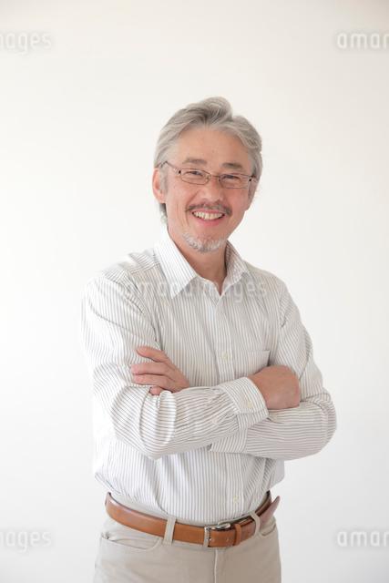 ミドル男性ポートレートの写真素材 [FYI01469859]