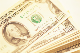 ドル紙幣の写真素材 [FYI01470919]